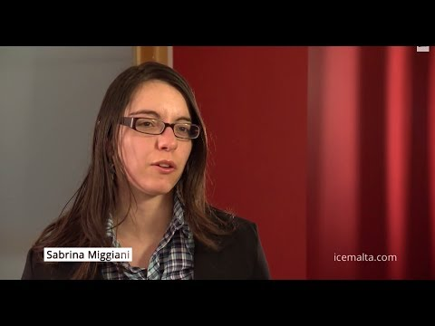 Sabrina Miggiani - ICE Malta's success (FACES 2014)