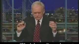 David Letterman's Confession