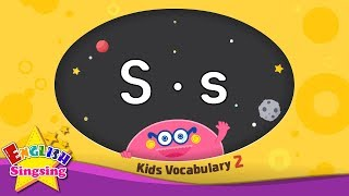 Kids vocabulary compilation ver.2 - Words starting with S, s - Learn English for kids