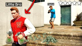 Little Brother ROBBED My MEGA MANSION In GTA 5 Roleplay..