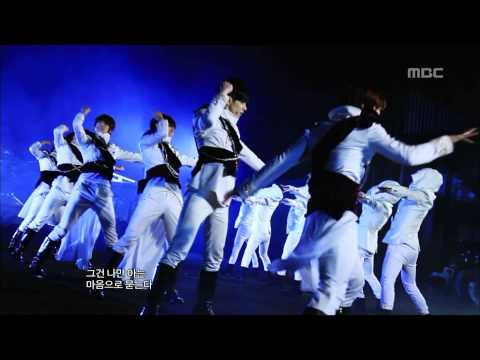 Boyfriend - Janus, 보이프렌드 - 야누스, Music Core 20121117