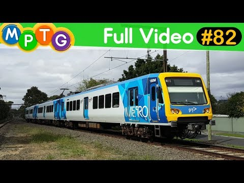 Melbourne's Metro and V/Line trains (Full Video #82)