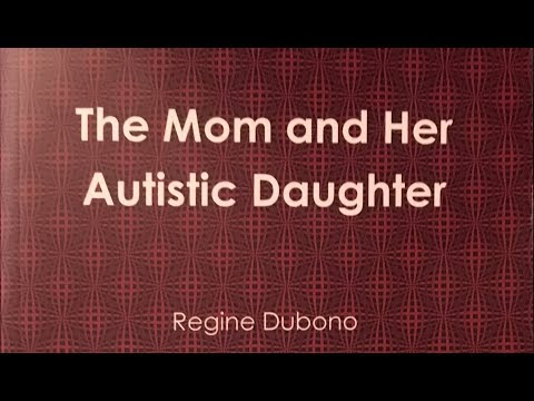 Her autistic daughter shows her pain -- The Mom and her autistic Daughter