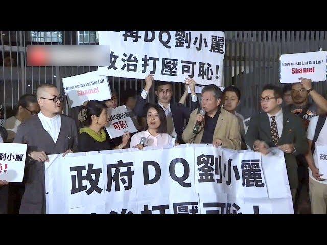 佔中運動劉小麗 遭港府撤銷補選資格