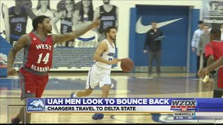 UAH men look to bounce back with a trip to Delta State