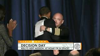 Mark Kelly's Difficult Decision