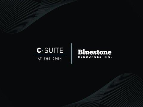 Jack Lundin, CEO, Bluestone Resources Inc.