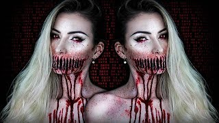 Ripped Mouth Demon HALLOWEEN SFX Makeup Tutorial | Tuto Maquillage Démon | Simple Symphony ♡