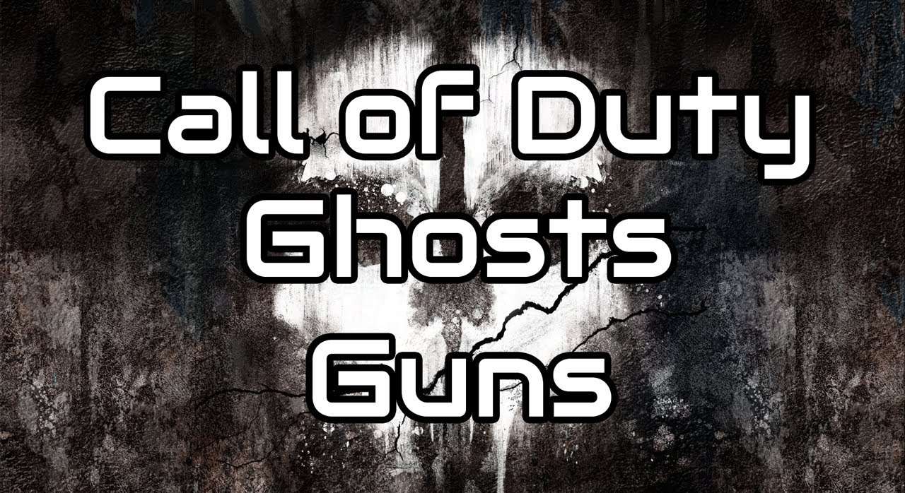 Call of Duty Ghosts Guns - YouTube