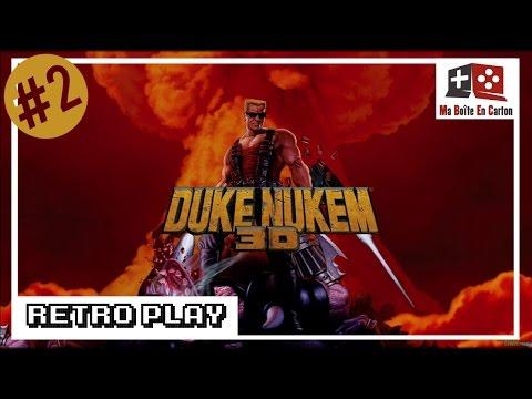 DUKE NUKEM 3D : Tué par son lance-roquette | Retro (Let's) Play #1 ...