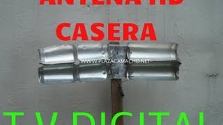 All comments on como hacer antena hd hdtv tdt exterior alta definicion casera con latas de - Antena tdt interior casera ...