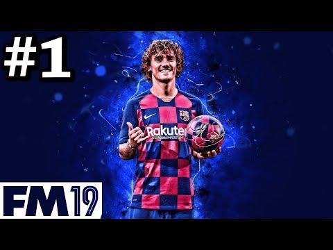 BARCELONA 2019/20 FM19 TRANSFER UPDATE | Griezmann Makes Barca Debut! | Football Manager 2019 #1