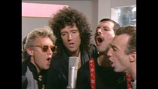 Queen - One Vision (Extended) 1985 [Official Video]