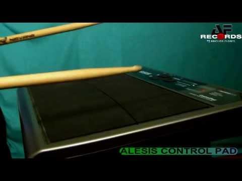 ALESIS CONTROL PAD - LA BASE EN VIVO 2013 - OCTAPAD MIDI