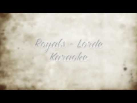 Baixar Royals - Lorde | Instrumental | Karaoke w/ hook | Lyric Video
