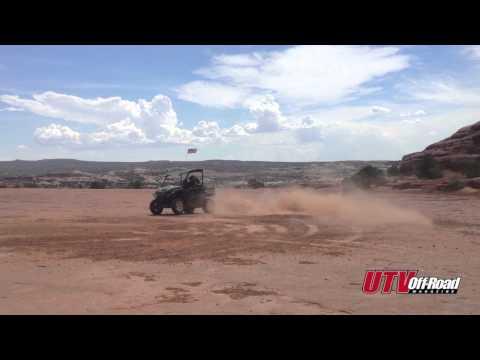 John Deere RSX850i Action - UTV Off-Road Magazine