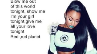 Little Mix Feat. T-Boz - Red Planet (Lyrics)