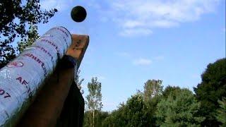 Homemade Tennis Ball Cannon