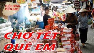 ĐI CHỢ QUÊ QUÁ VUI - 28 TẾT NGUYÊN ĐÁN 2018 | Nam Việt