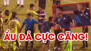 Quang Hải xô xát với nhân viên y tế, Hà Nội FC và Bình Dương ẩu đả | 10 phút hỗn loạn tại Gò Đậu