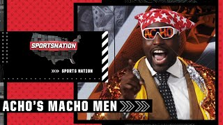 Sam Acho's 'Macho Men' of Week 2: Lamar Jackson, Derrick Henry & Bobby Wagner   SportsNation