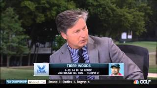 "Brandel Chamblee Clobbers Nobilo and Notah With ""Shaft Lean"""