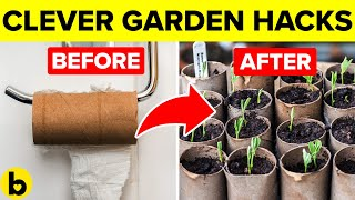 15 Plus Clever Garden Hacks That You Should Know Video HD