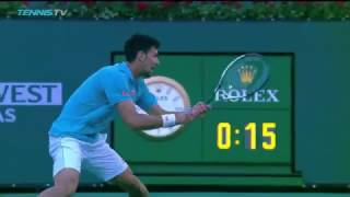 ATP R2 Djokovic Hot Shot