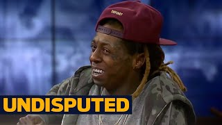 Lil Wayne: God knows I've been blessed...but I've never dealt with racism | UNDISPUTED