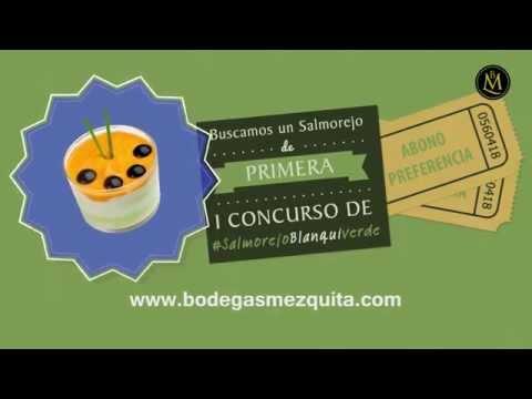 I Concurso de #SalmorejoBlanquiverde en Bodegas Mezquita