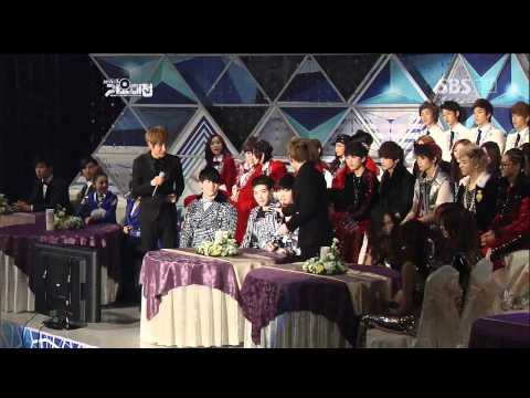 SuperJunior - Interview Time @SBS MUSIC FESTIVAL 가요대전 20111229