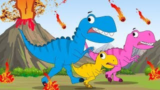 Baby T. Rex Song + Baby Shark Doo Doo + FunForKidsTV Songs Compilation