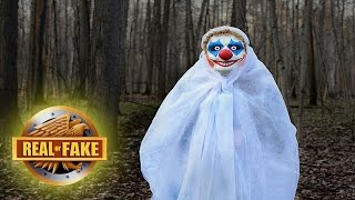 CREEPY CLOWNS - real or fake?