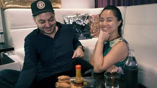 Thai Girlfriend Tries 'The Last Dab' | Hot Ones Review | RehaAlev