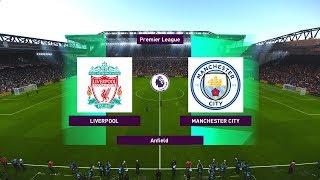 PES 2020   Liverpool vs Manchester City (COM vs COM) EPL 2019