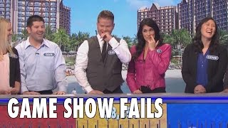Worst Game Show Fails Ever!