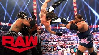 WWE RAW (11/16): Team RAW Vs. RETRIBUTION