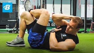 5 Minute Abs Workout   Chris Gronkowski