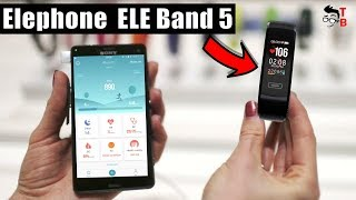 Elephone ELE Band 5: Is It Better Than Xiaomi Mi Band 2? Hands-on Preview