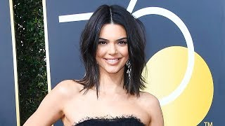 Kendall Jenner Gets TROLLED For Attending 2018 Golden Globes