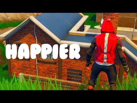 Marshmello- Happier ( Fortnite Cinematic Music Video)