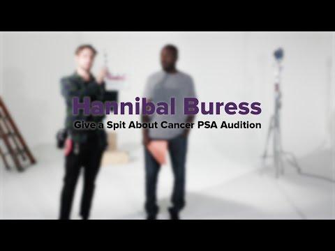 Hannibal Buress Give a Spit About Cancer PSA