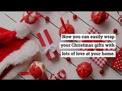 Specialty Wraps - Christmas Cellophane Wrap