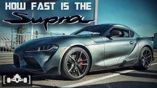 2020 Toyota Supra Acceleration [60-130] Review | Has the Legend Returned?