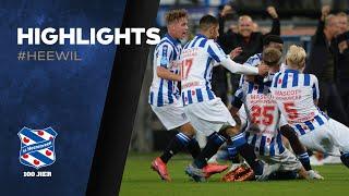 Highlights   sc Heerenveen - Willem II   Eredivisie 2020/2021