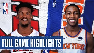 HEAT at KNICKS | FULL GAME HIGHLIGHTS | January 12, 2020