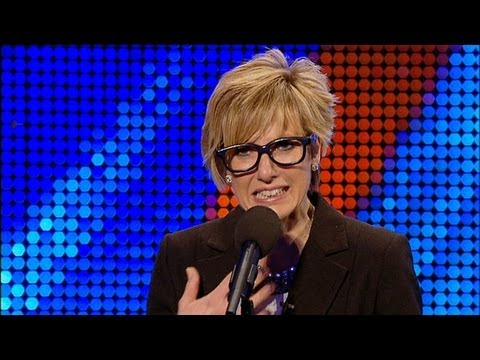 Impressionist Marea Smithson - Britain's Got Talent 2012 audition -- International version