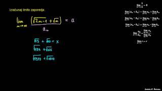Računanje limite zaporedja 5