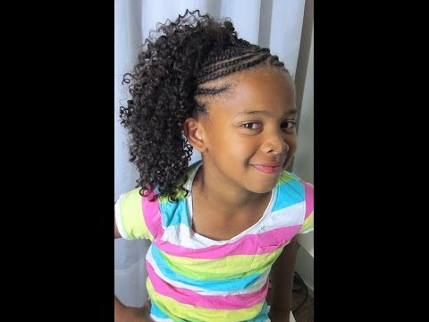 Crochet Braids Kid Friendly : Crochet Braids on Natural Hair (Kid Friendly)