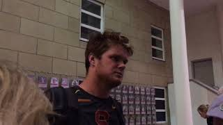 USC QB Sam Darnold Talks Loss to WSU